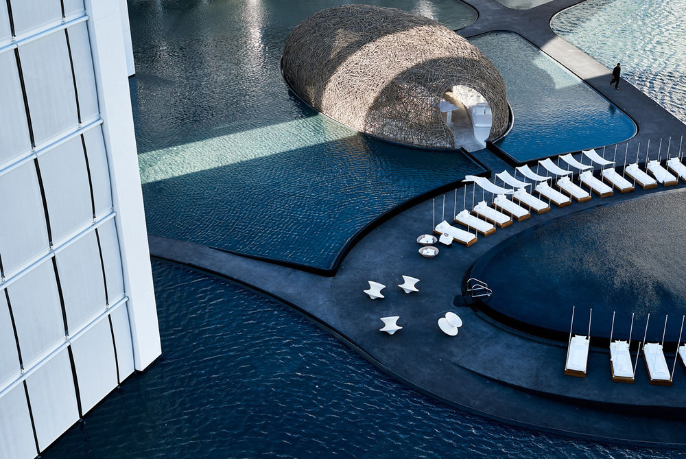 View of Mar Adentro's 'El Nido' restaurant