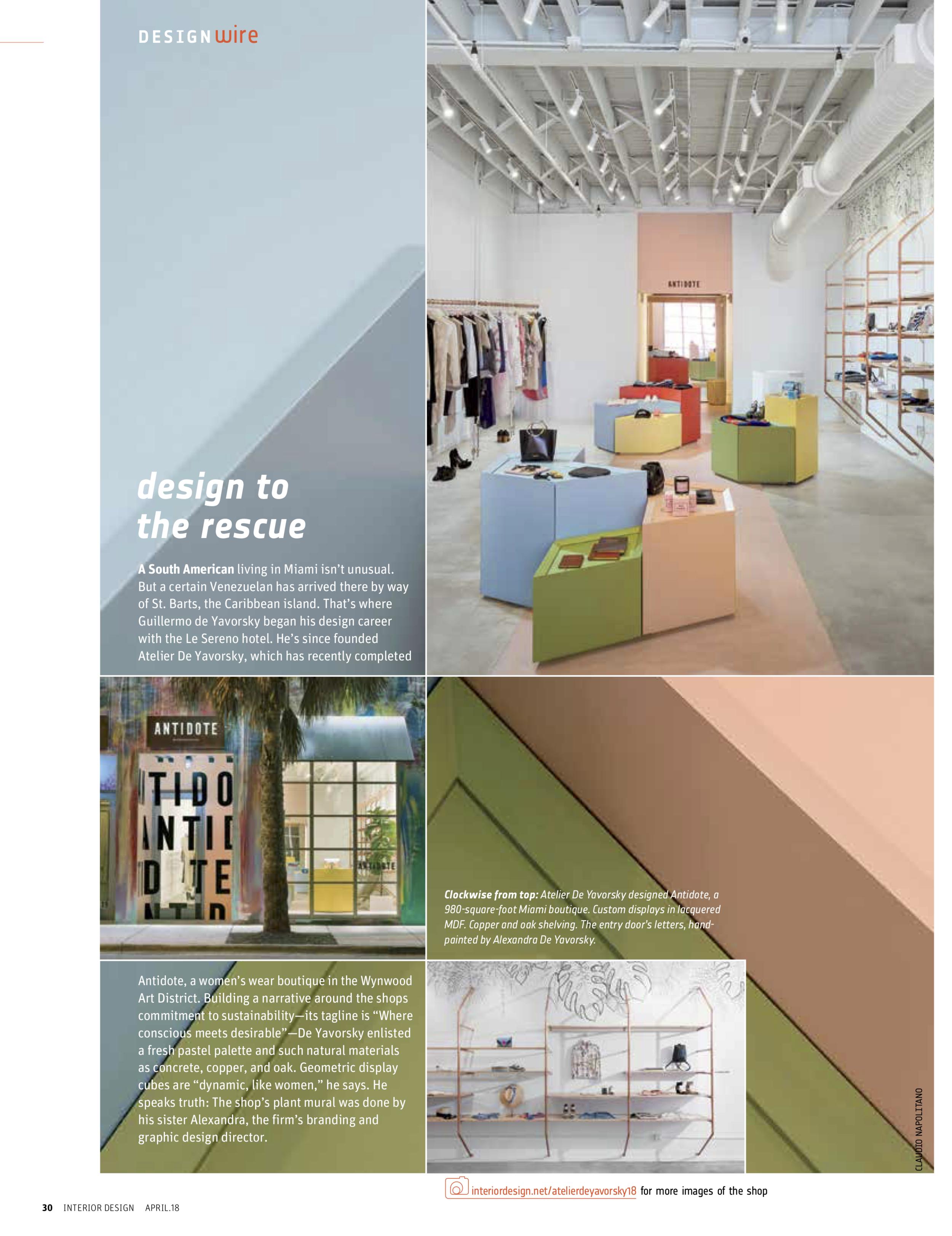 Interior Design Magazine Atelierdeyavorsky