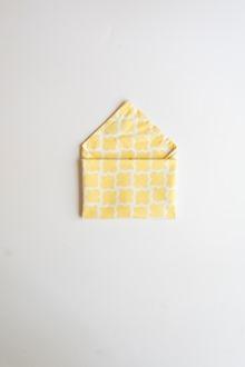 cotton dinner napkins yellow and white napkin folds