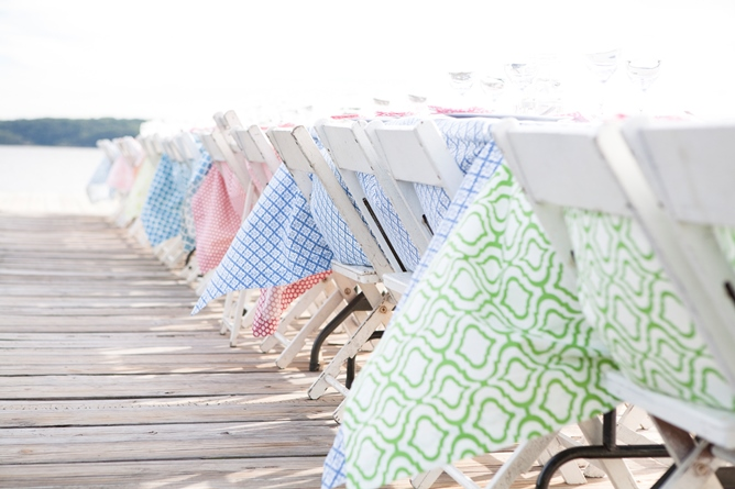 cotton tablecloths spring colors