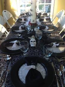 Halloween table setting (2)