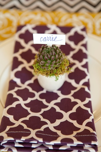 Thanksgiving place cards cotton table linens