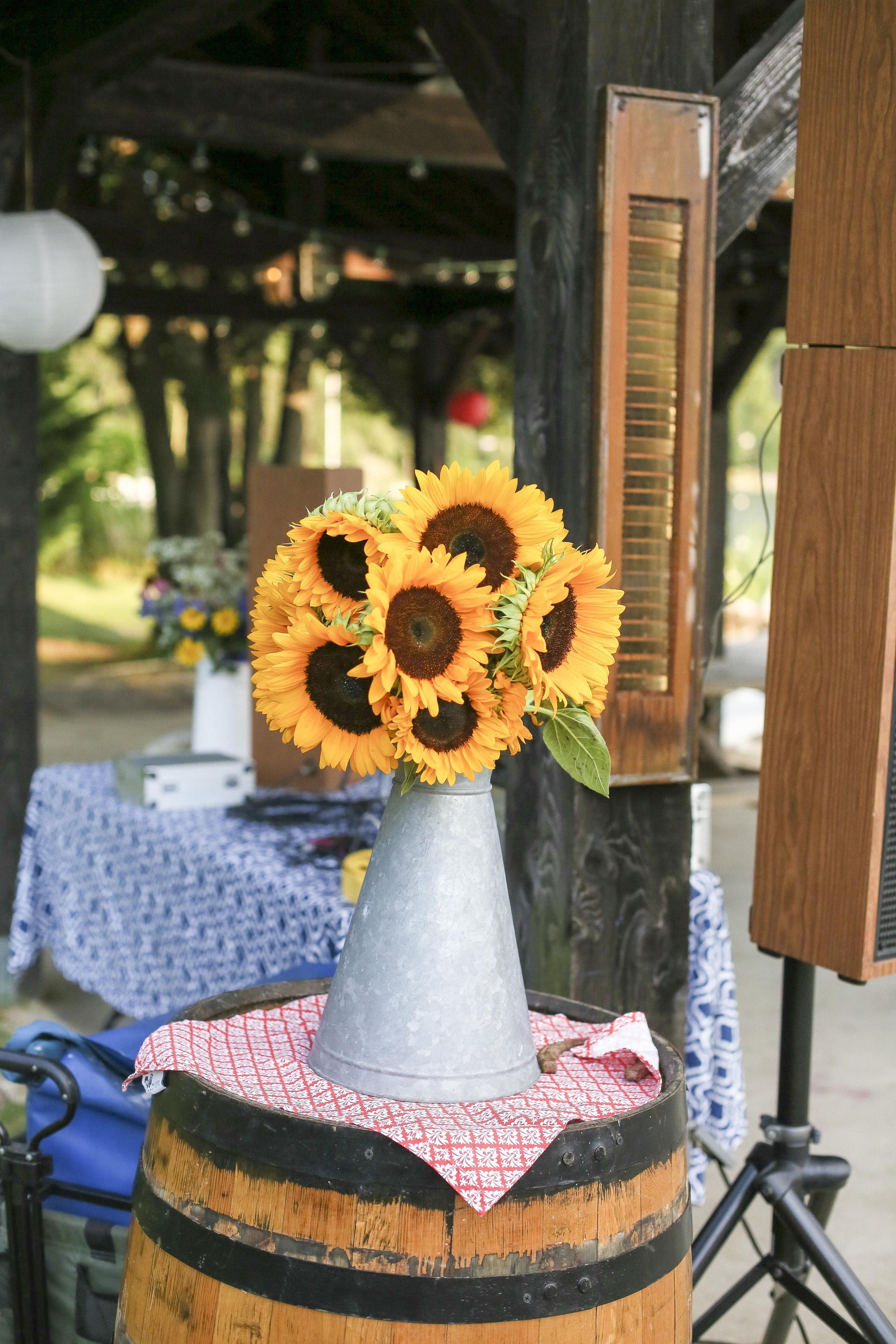 Labory Day Sunflowers.JPG