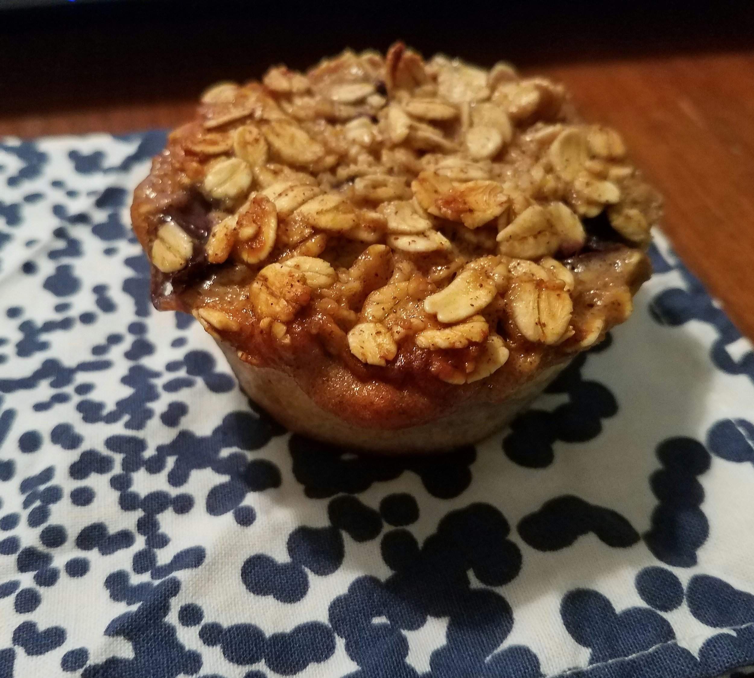 breakfast on the go oatmeal muffins
