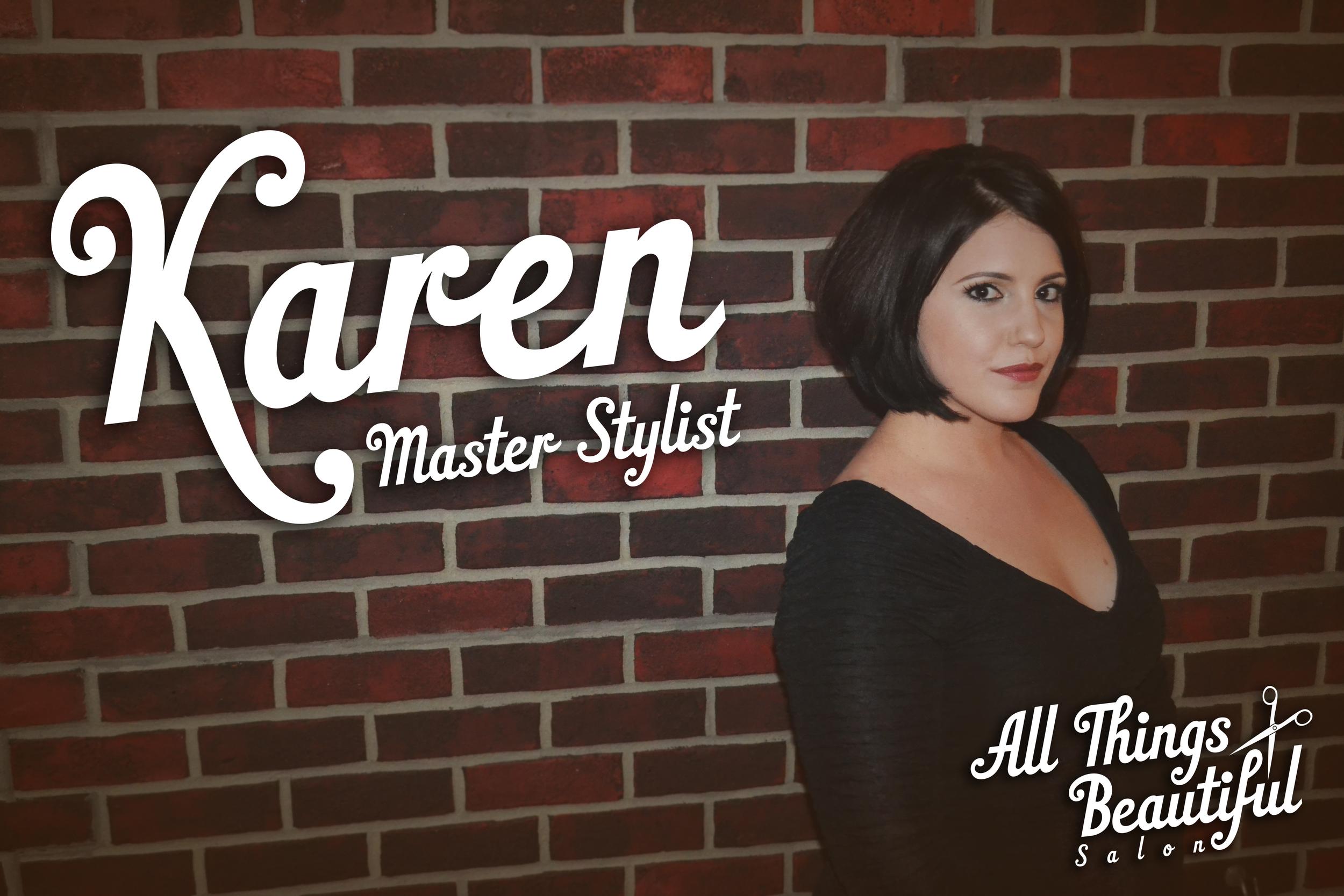 Karen - Master Stylist