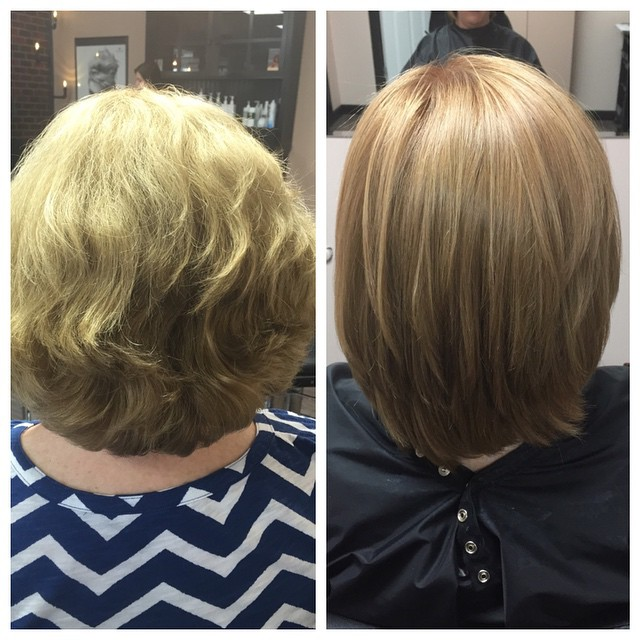 Color and Brazilian Blowout by Karen