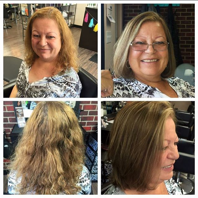 Haircut & color by Karen