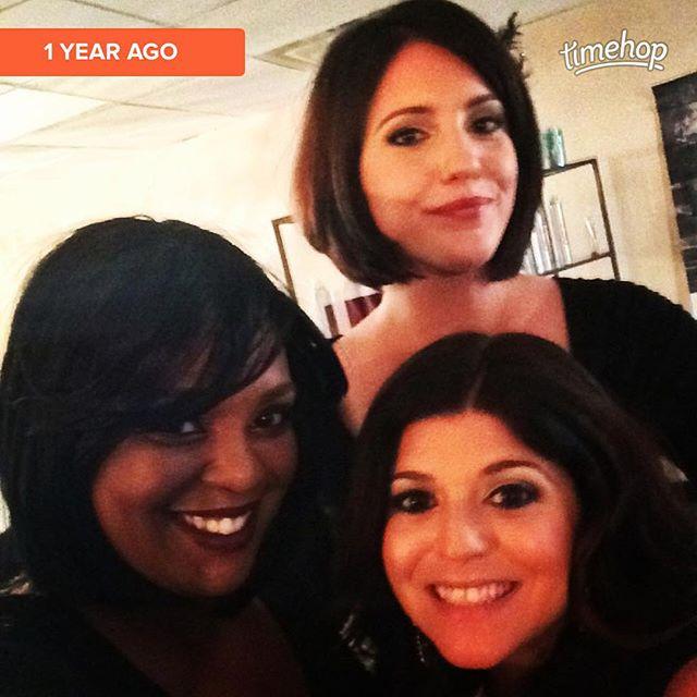 One year ago!
