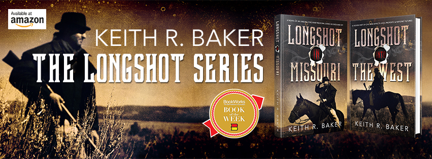 Keith R. Baker The Longshot Series Facebook Banner || Designed by TheThatchery.com
