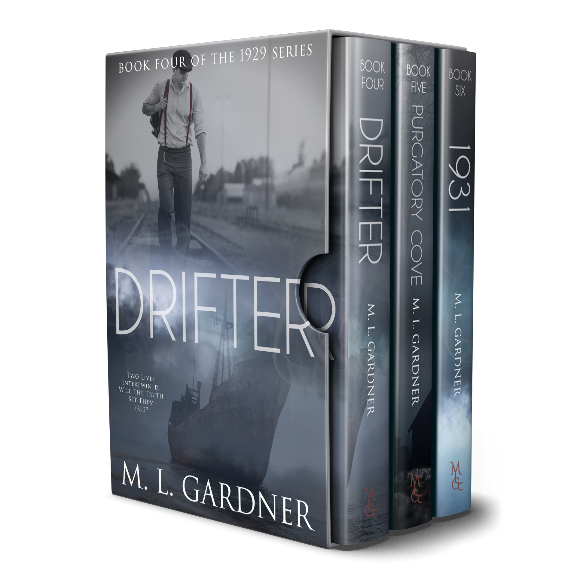 M. L. Gardner's 1929 Series Boxed Set: Books 4 - 6 || Designed by TheThatchery.com