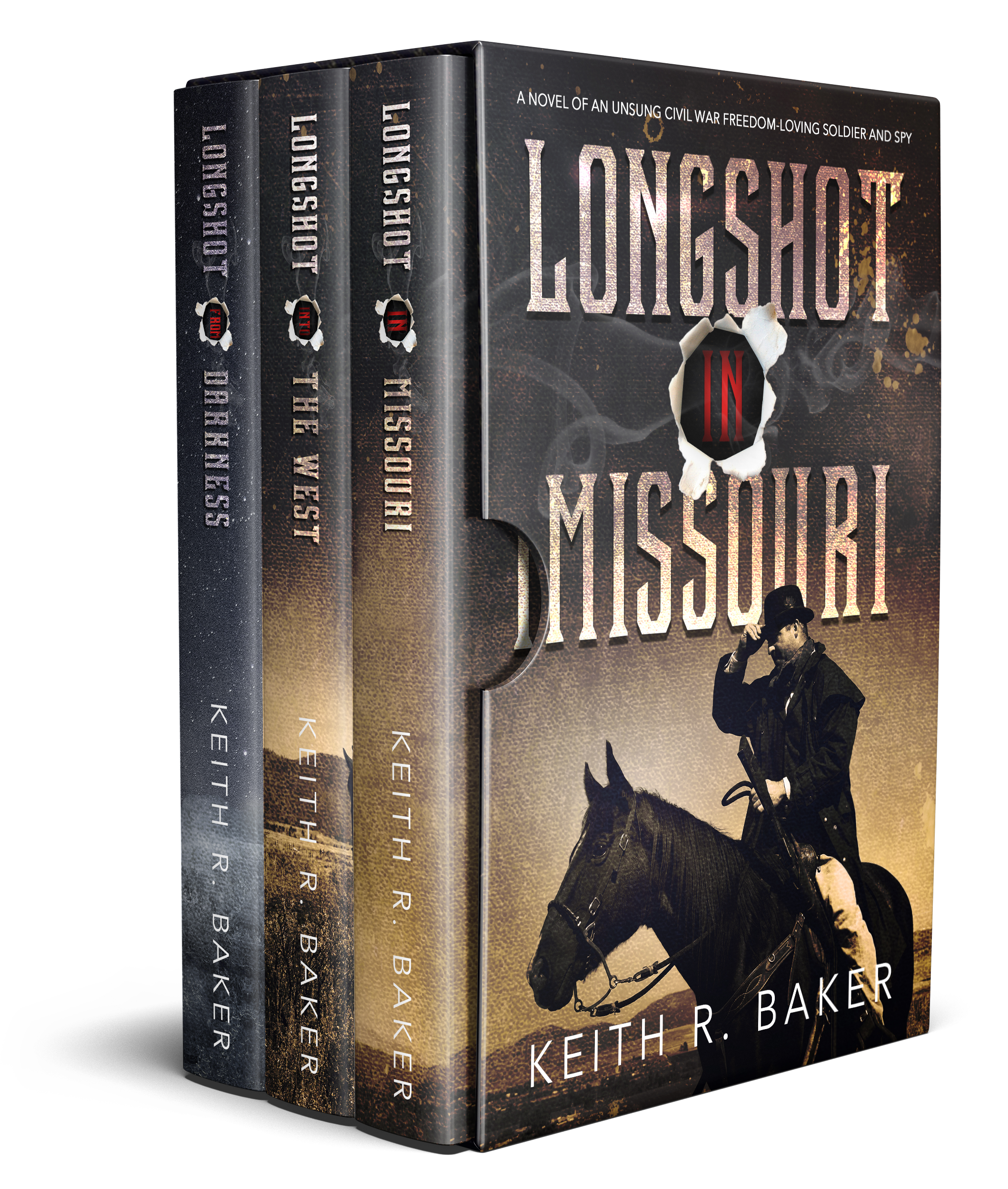 Keith R. Baker's Longshot Series Boxed Set || Designed by TheThatchery.com