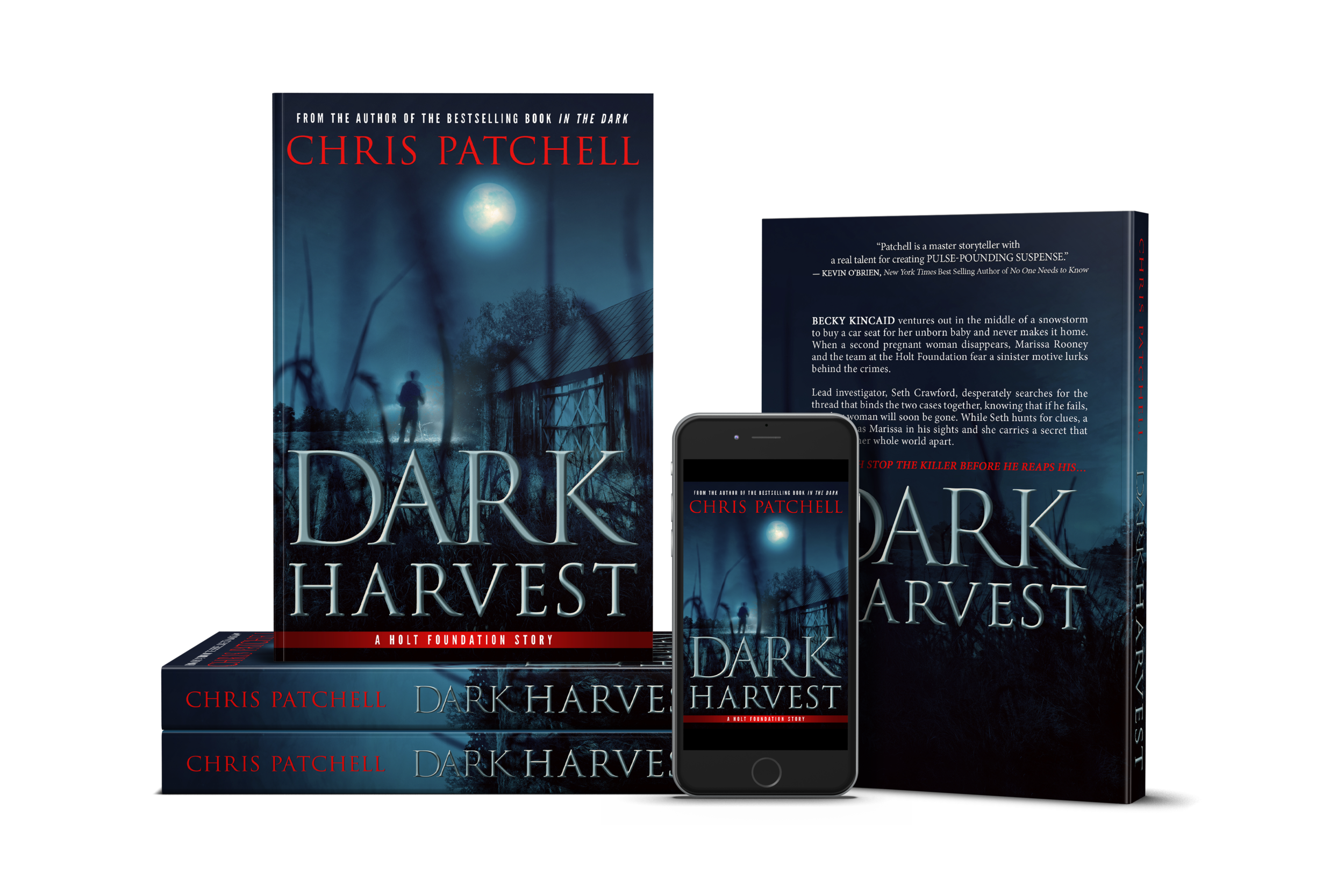 Chris Patchell's Dark Harvest || Designed by The Thatchery
