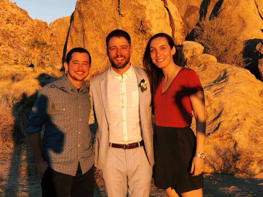 Graham, Ben, and Sarah