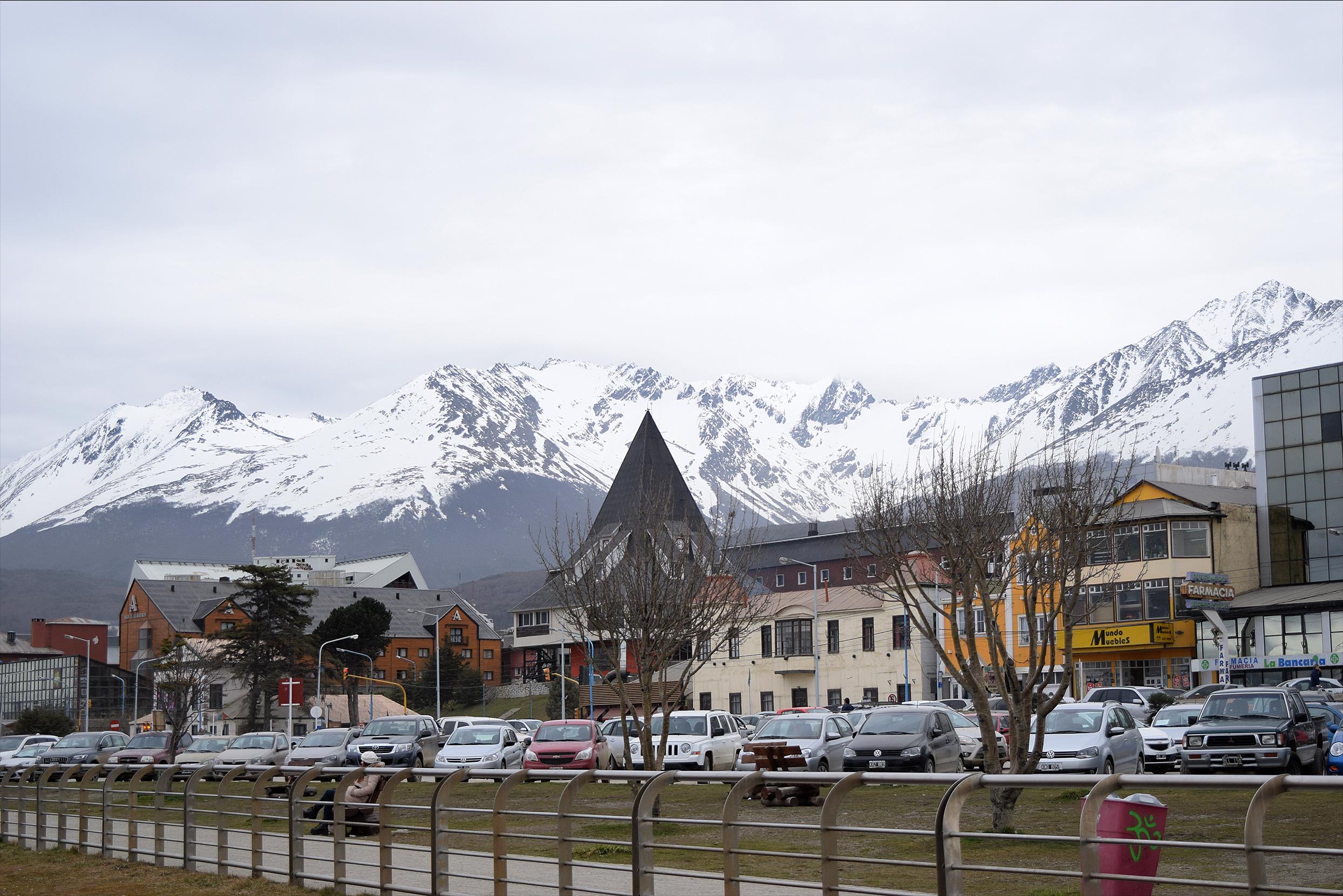 Ciudad de Ushuaia.