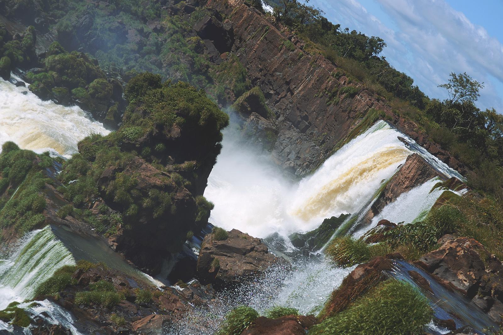 Vistas desde el Circuito Inferior del Parque Nacional Iguazú.