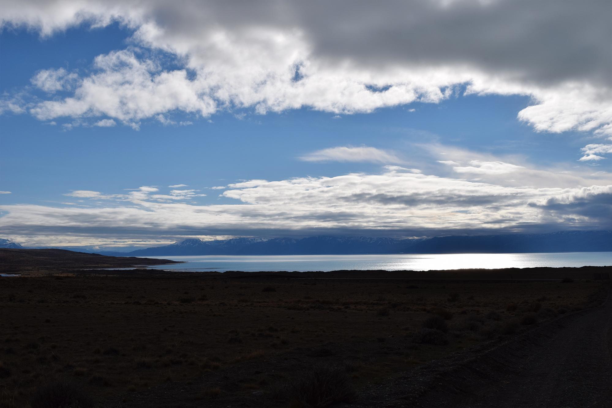Las vistas camino al Glaciarium.