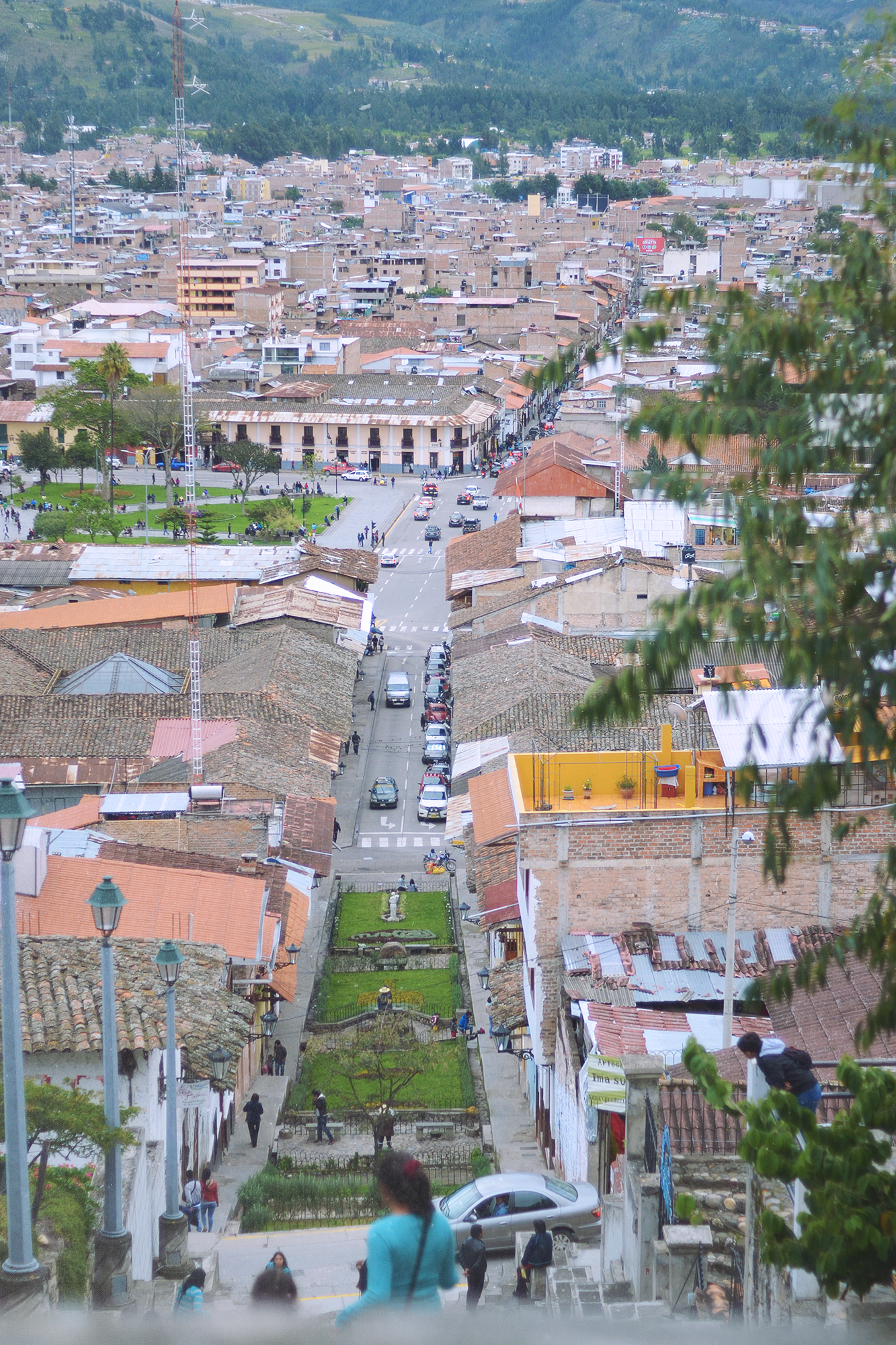 Vista desde el Cerro Apolonia.