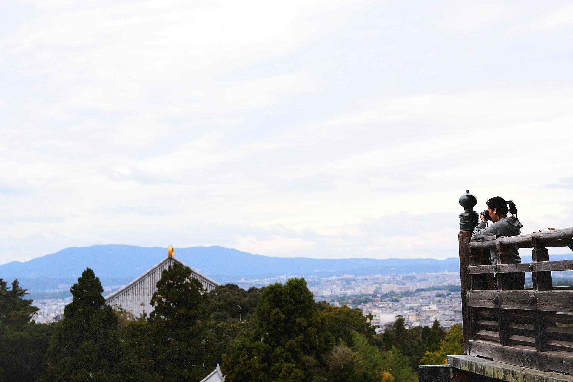 Vistas desde el Nigatsudo.