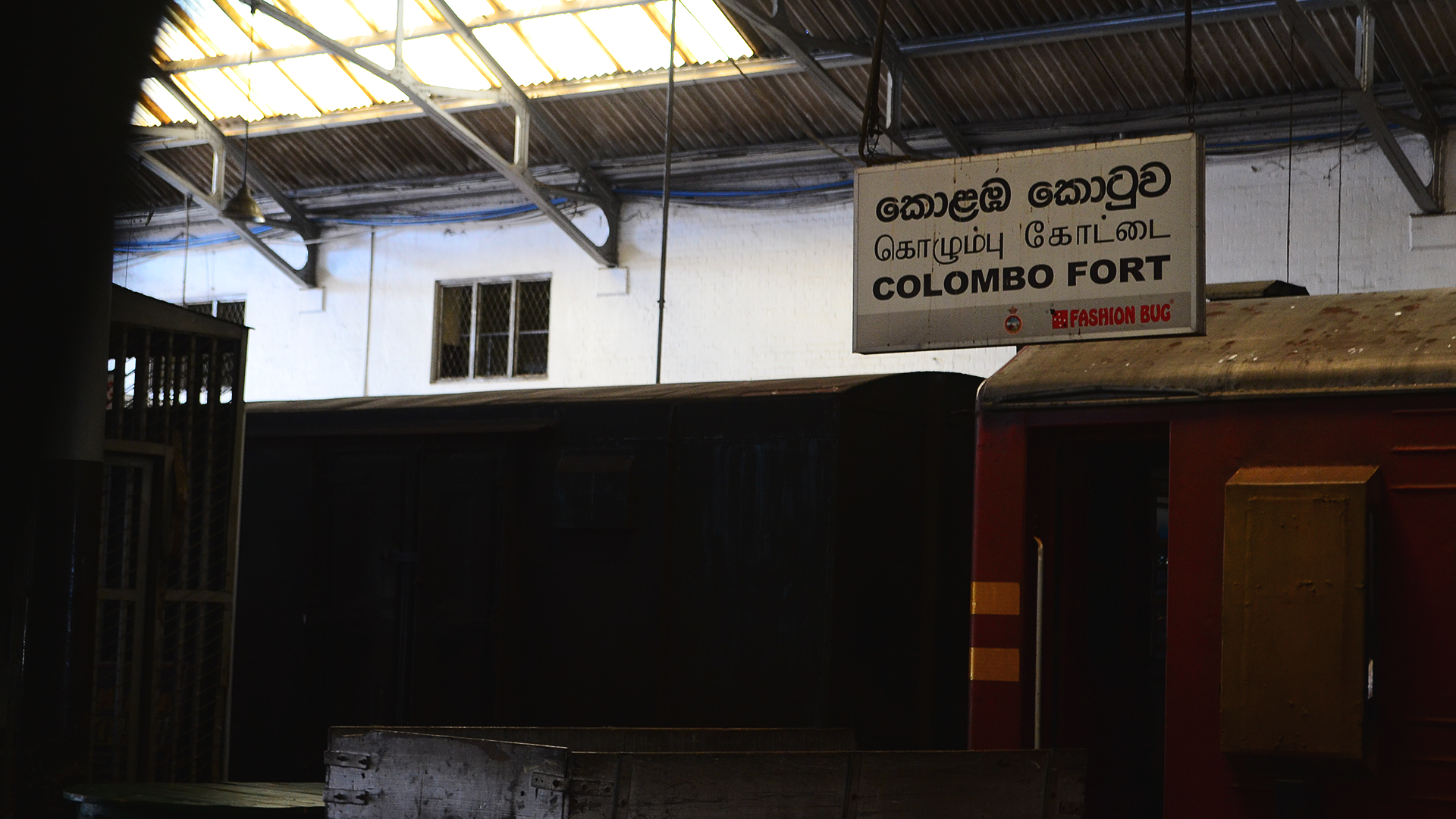 Llegando a Colombo Fort.