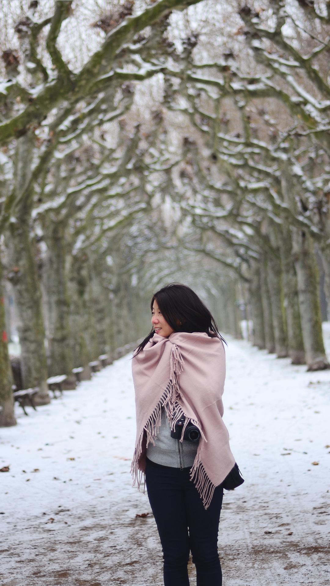 No se olviden traer abrigo a Europa en invierno.
