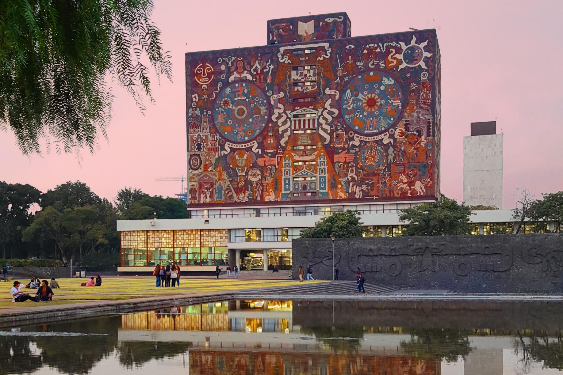 Mural en la UNAM.