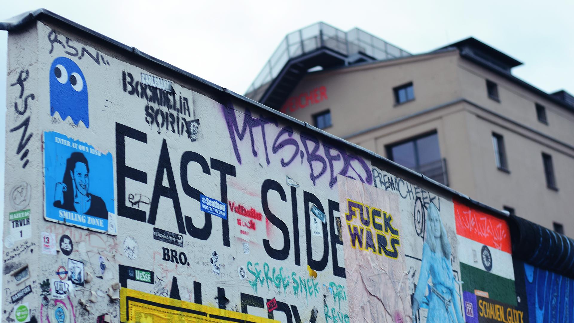 Parte del East Side Gallery.