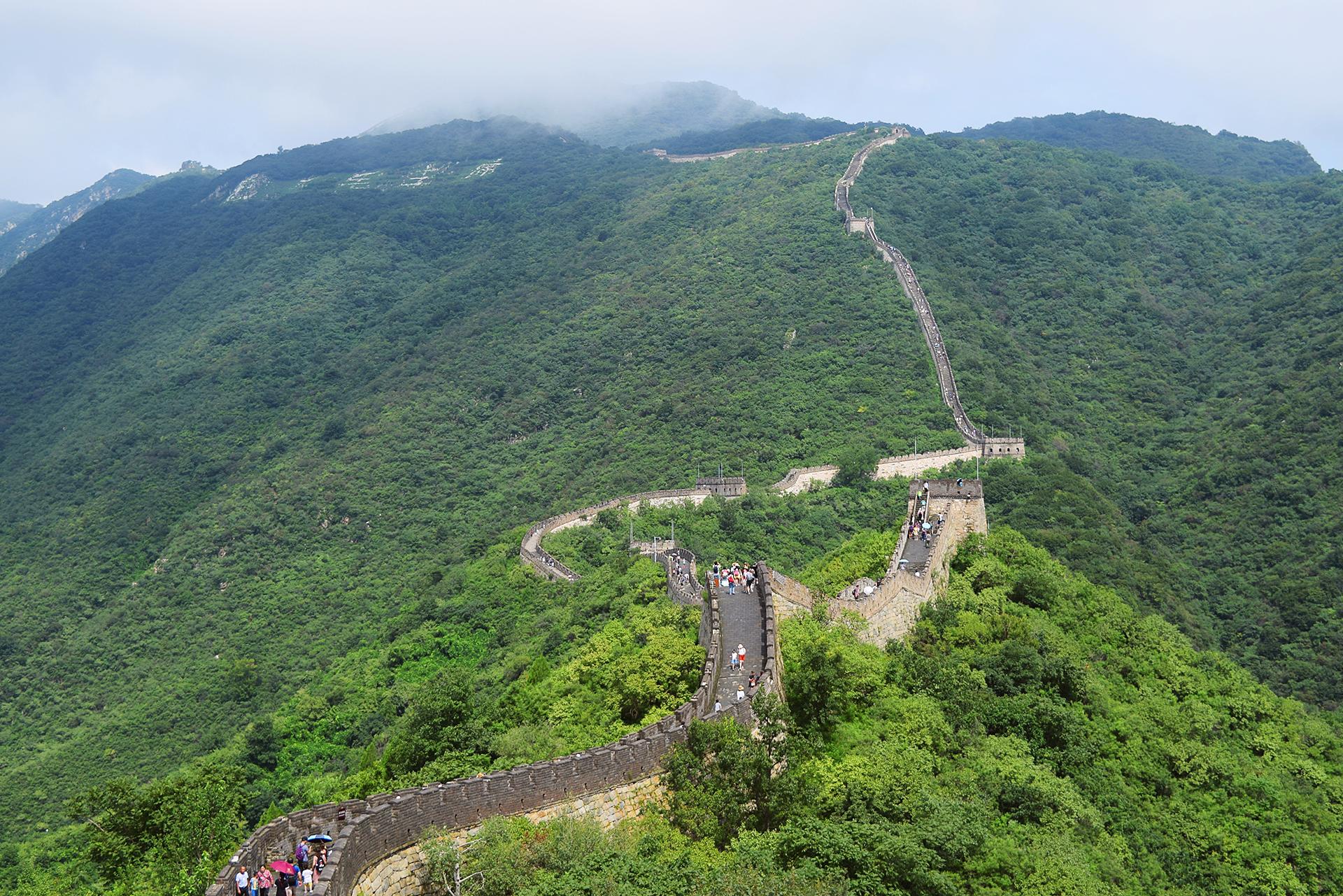 """""""No puedes ser un verdadero hombre si nunca has escalado la Muralla China"""" - Proverbio Chino."""