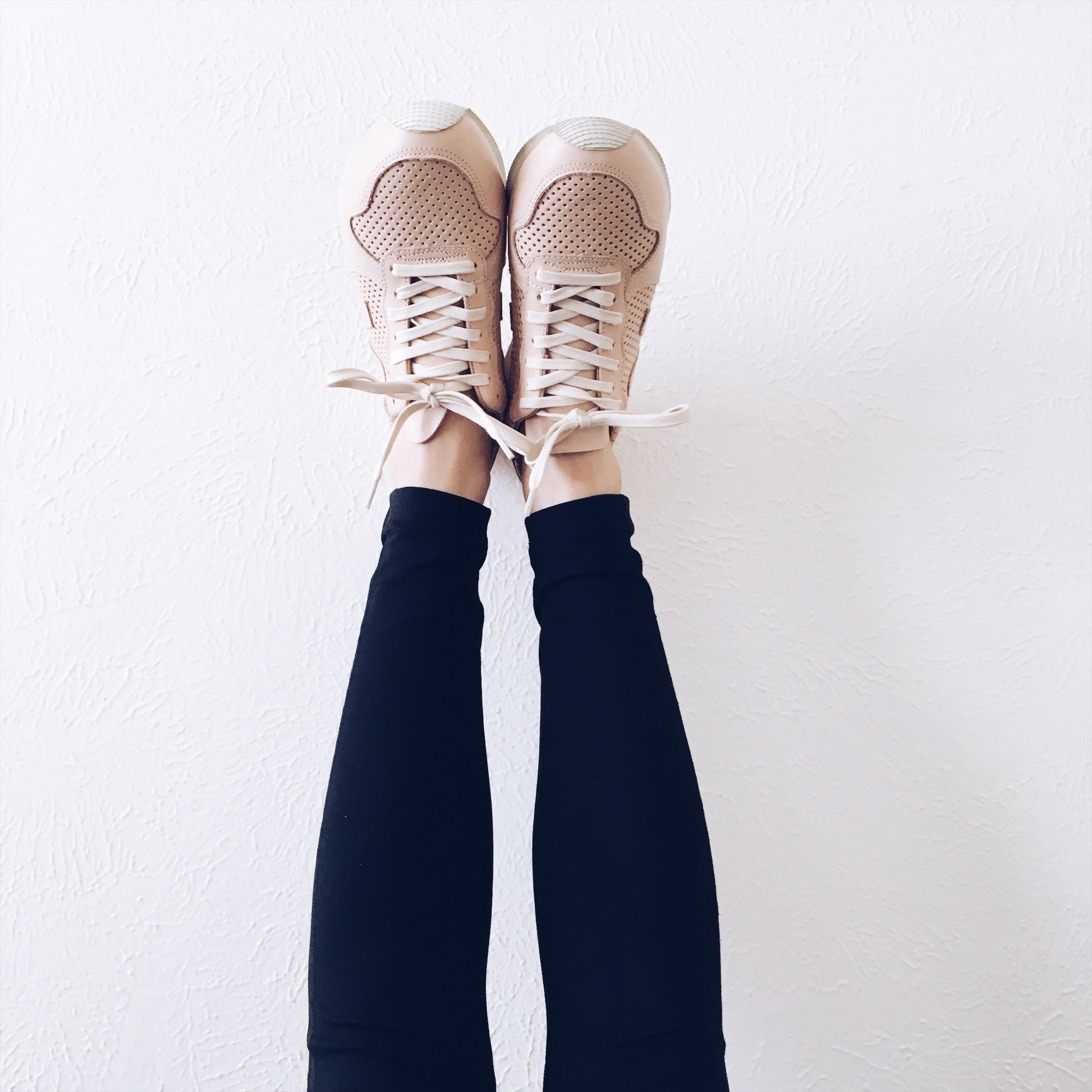 Veja shoes and Girlfriend Collective leggings