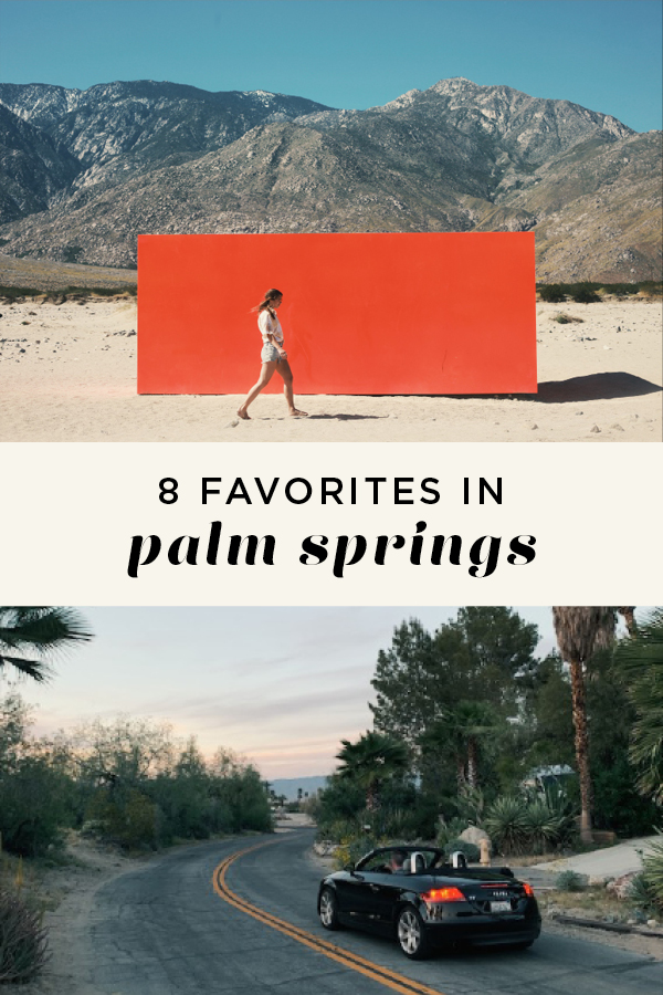 8 favorites in Palm Springs, Turo car, Spector
