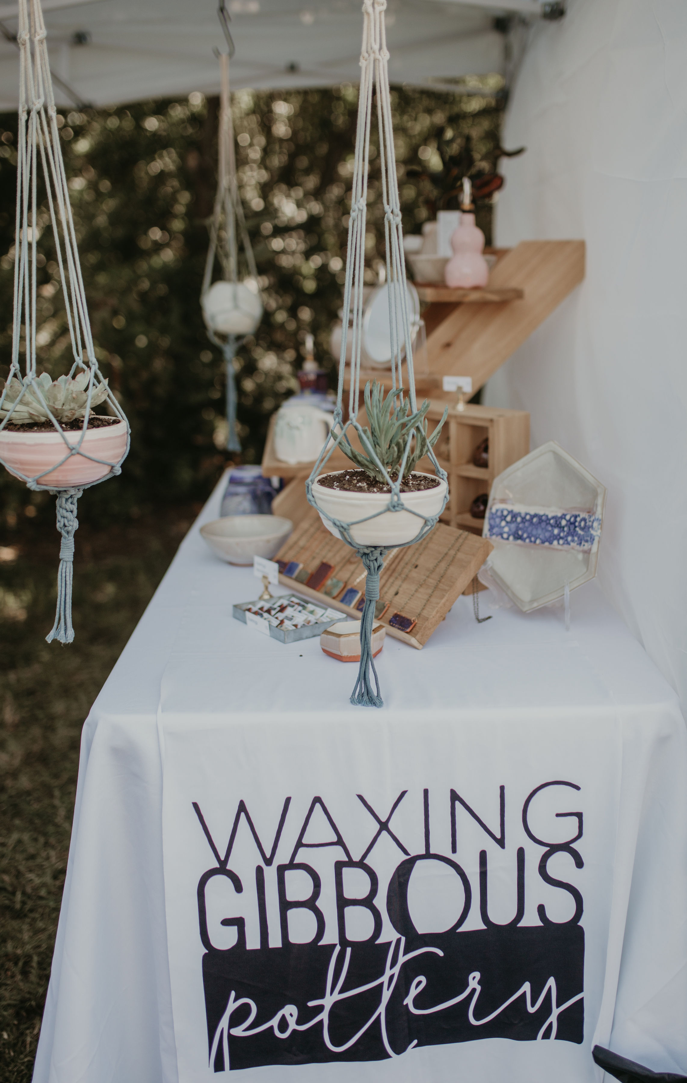Fall events - Check out Waxing Gibbous Pottery in person at these events around Durham, NC