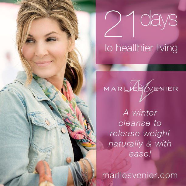 A 21-day winter cleanse by Marlies Venier