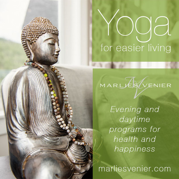 Yoga for lunchby Marlies Venier