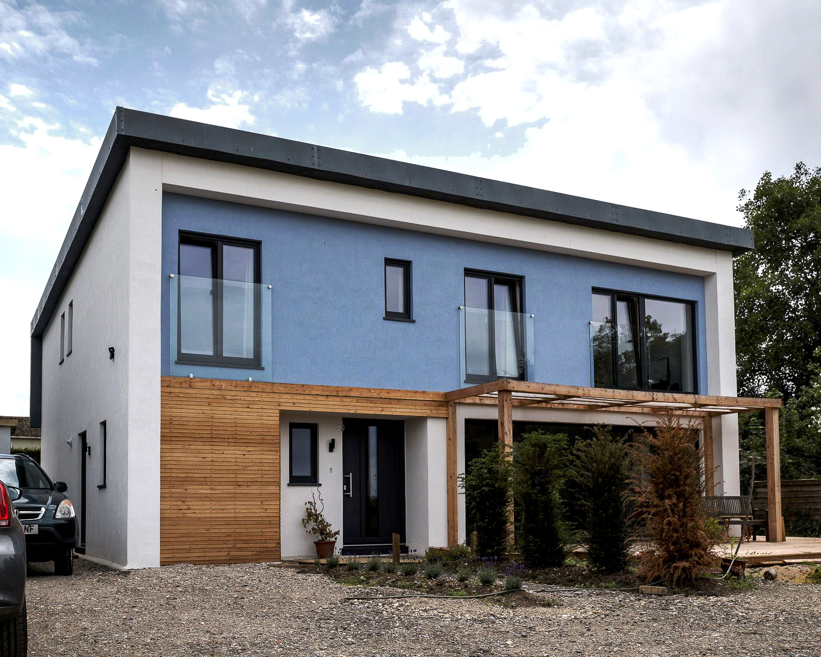 Goose Chase in Oxfordshire: our first project to PassivHaus standard, completed in 2015