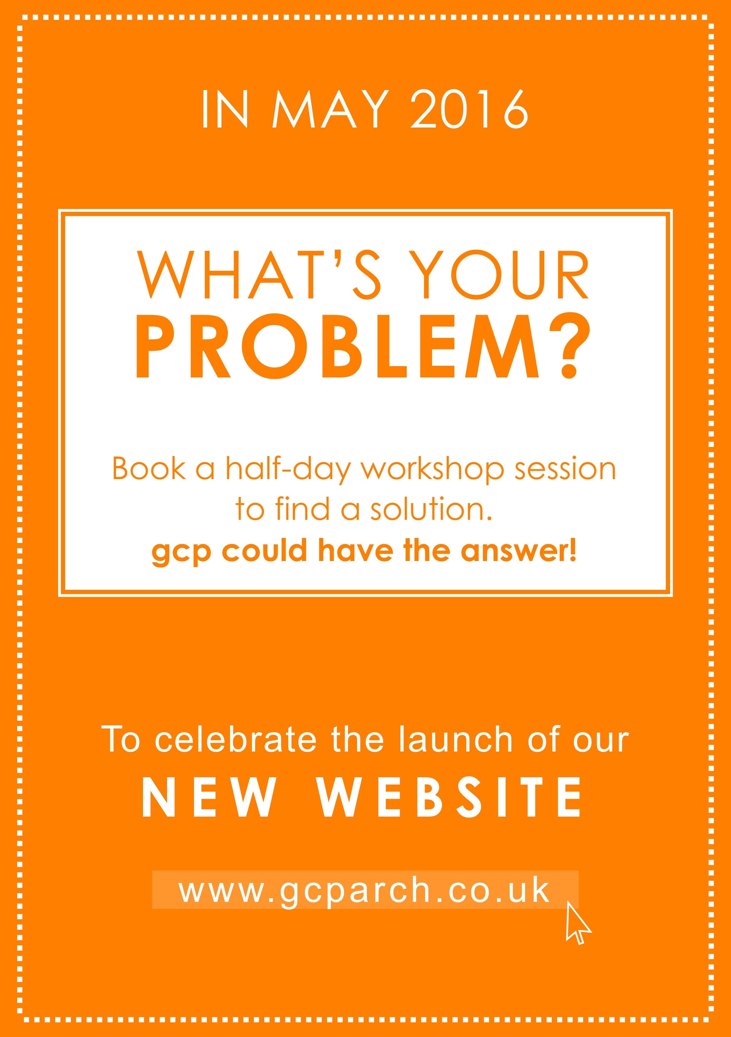 gcp new website launch