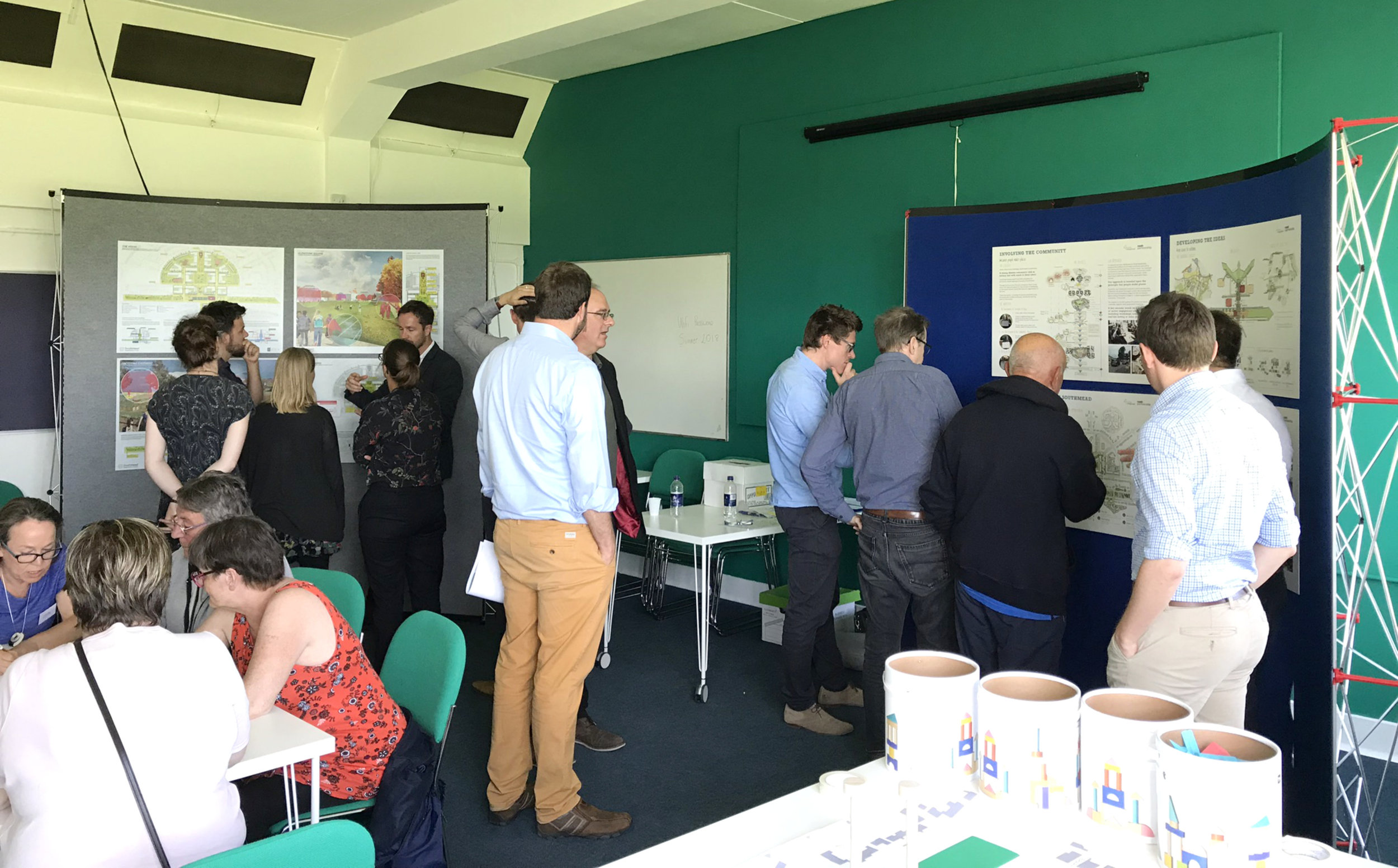 Public consultation underway at the Greenway Centre