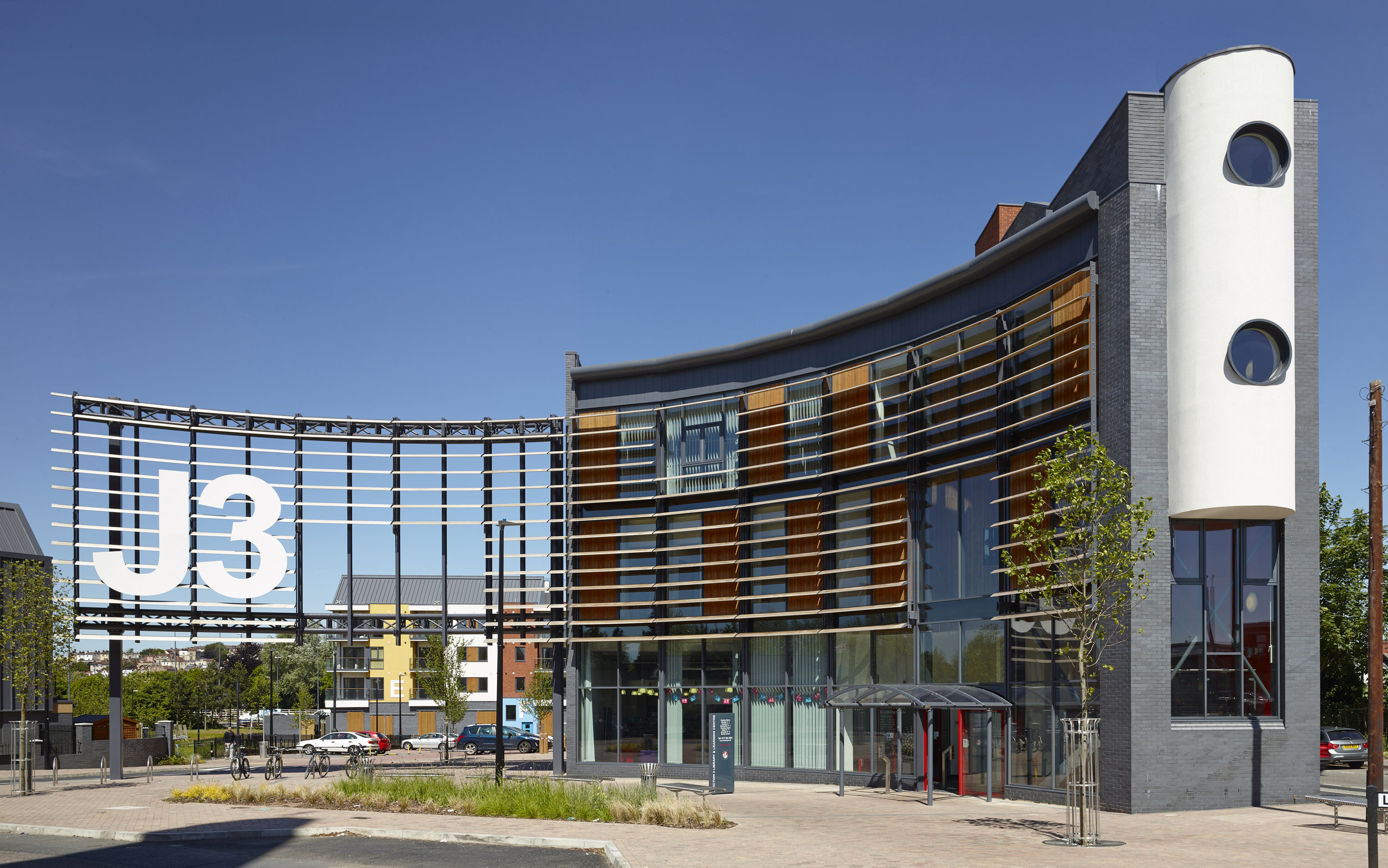 Junction 3, Easton, Bristol: The award winning J3 has revitalised a neglected part of the City
