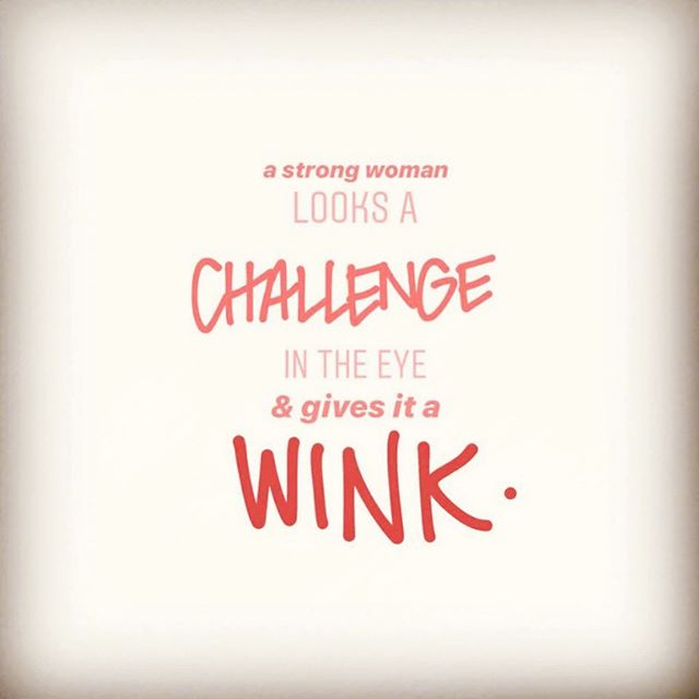We love to WINK & we love a challenge. 😘 #sundaymotivation 📸: @shopwhimsicality