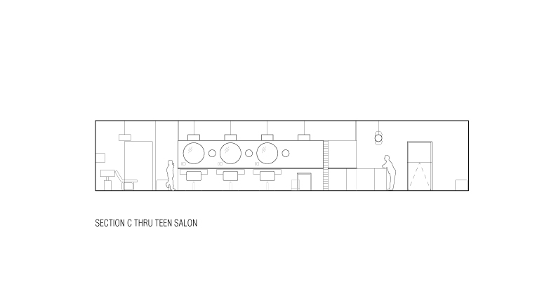 salon architect drawing