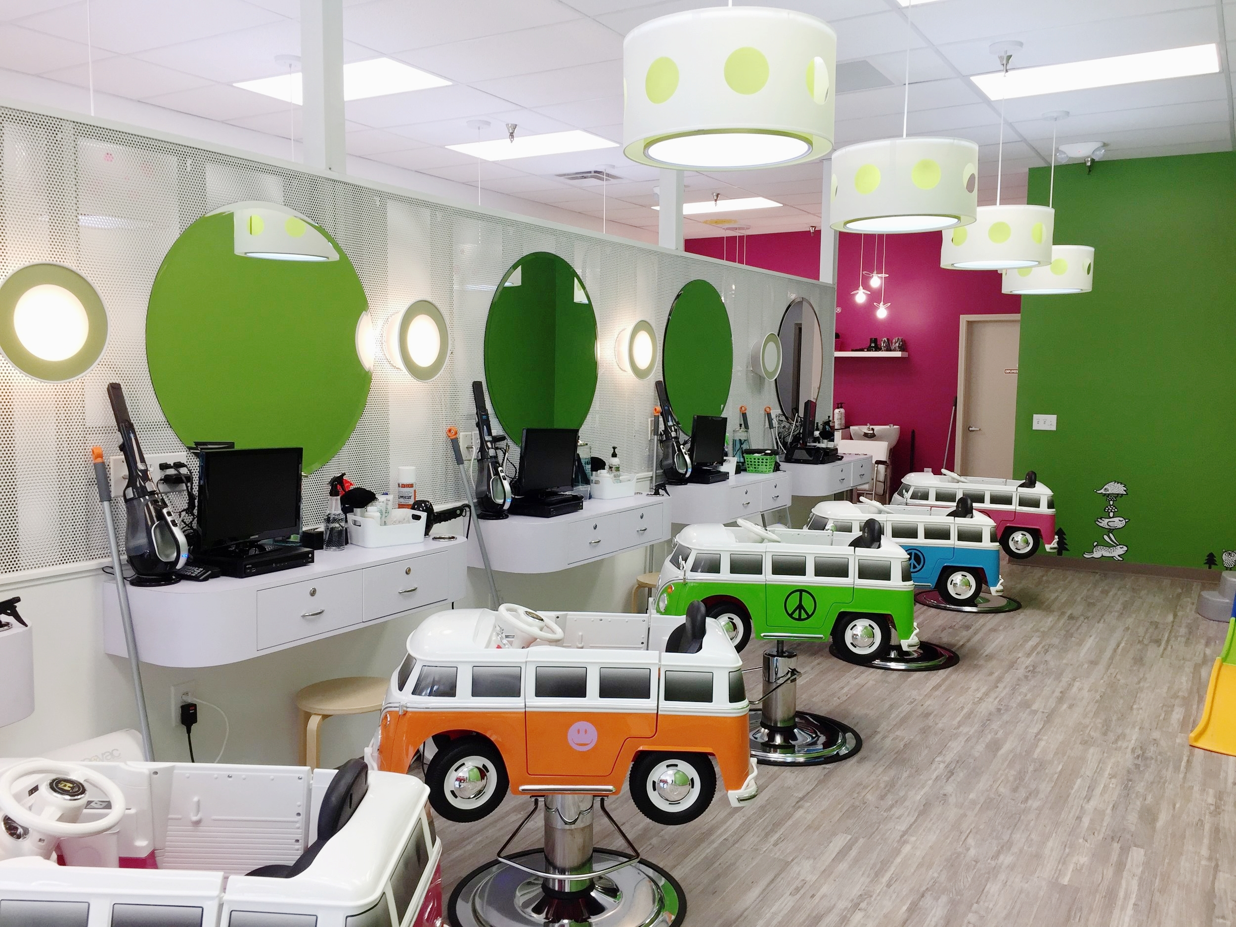 Kids Salon Interior Design Architecture