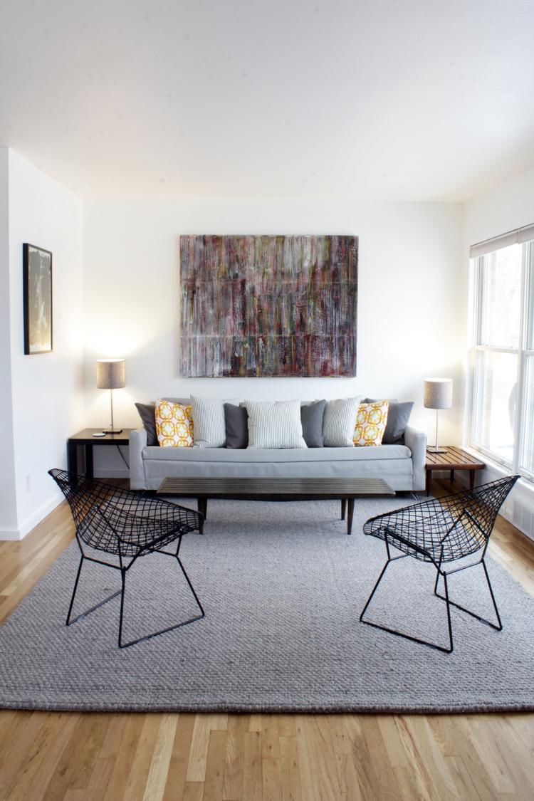 Ann Arbor House Living Room Modern