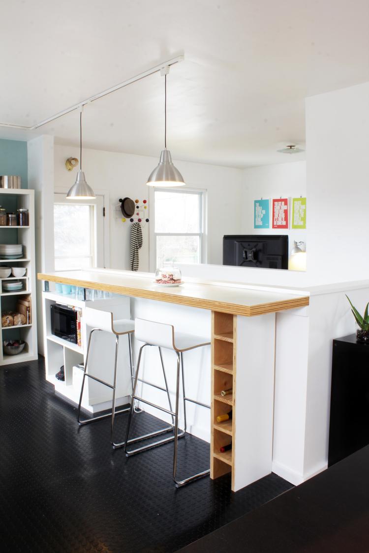 Ann Arbor modern house reno design