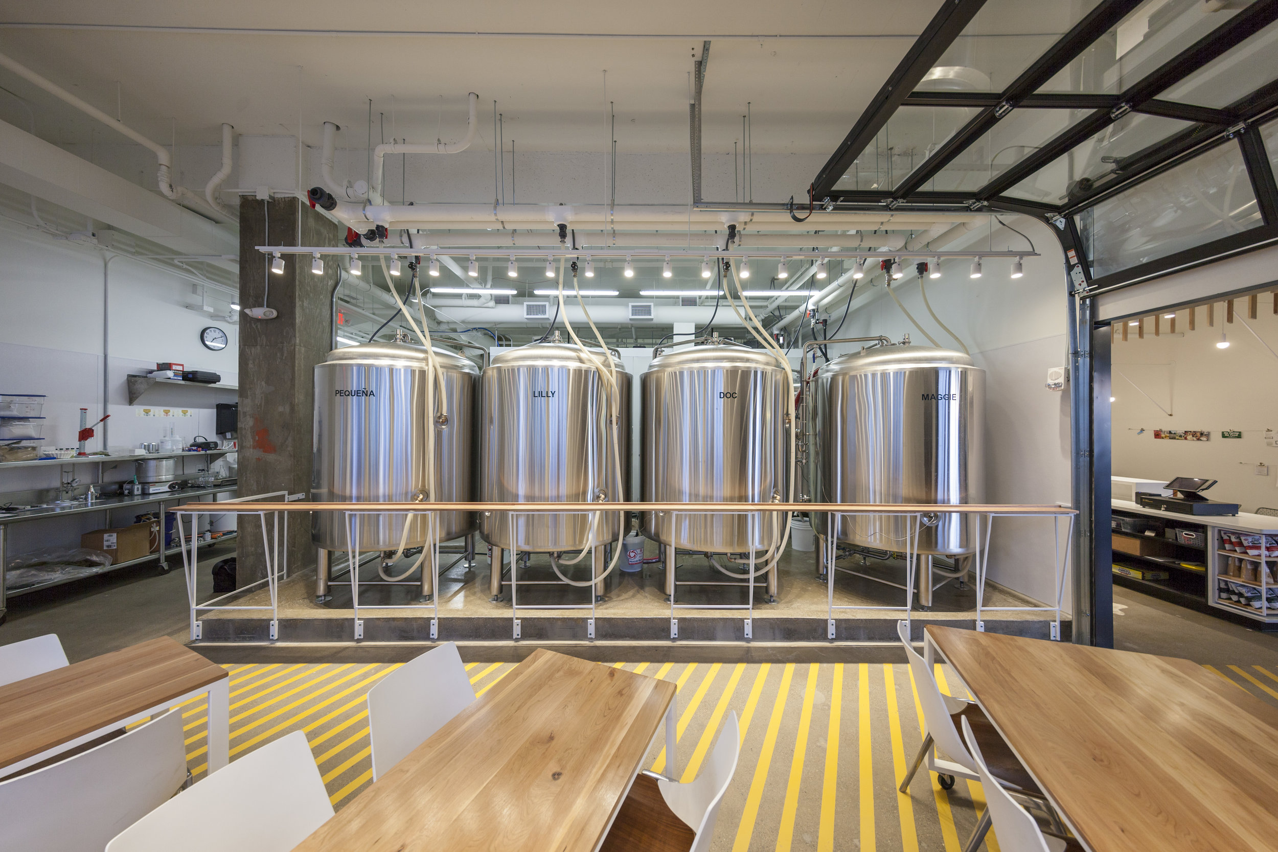 Bløm Meadworks brewery and taproom by Synecdoche Design Studio