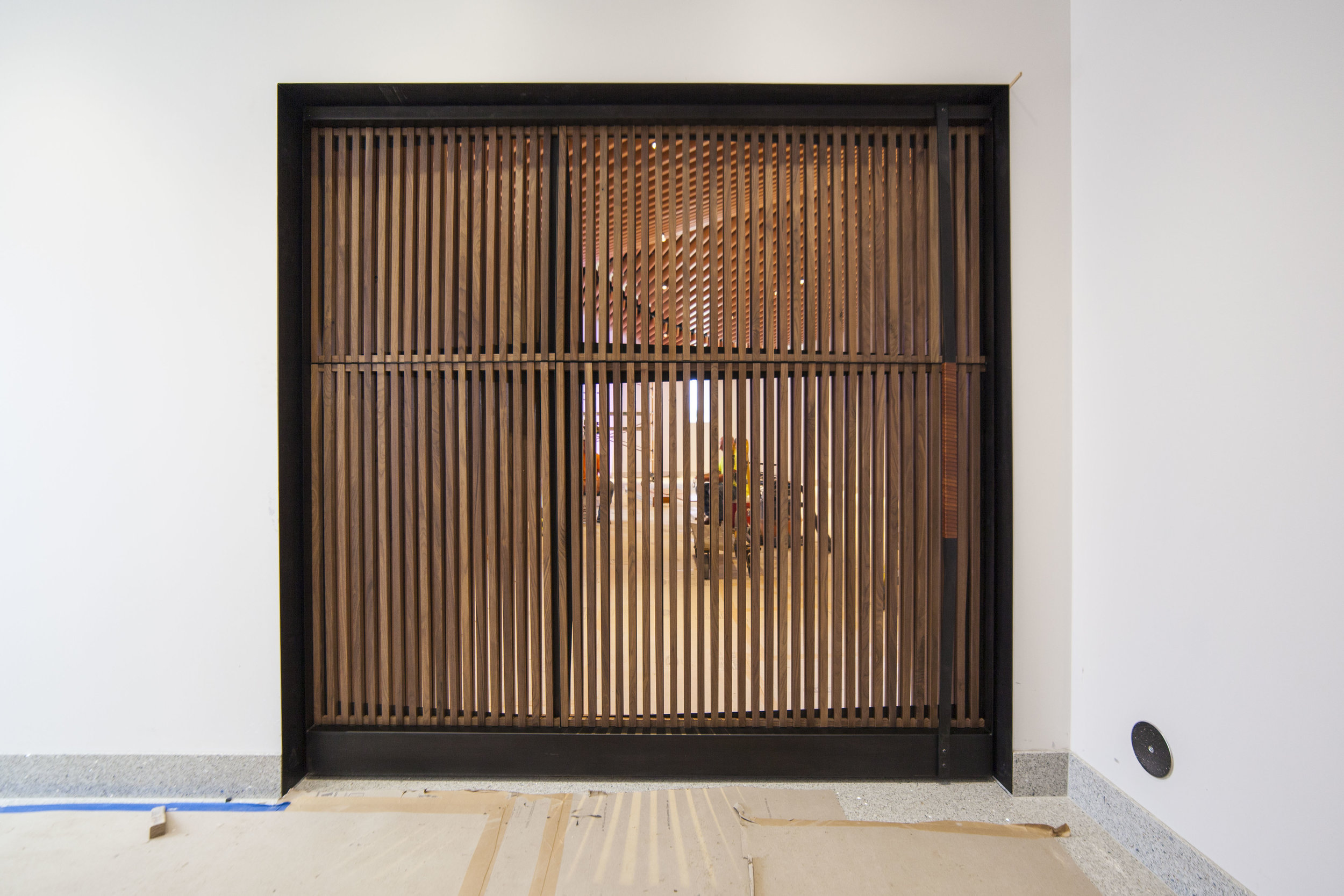 Chapel Pivot Door by Synecdoche Design Studio