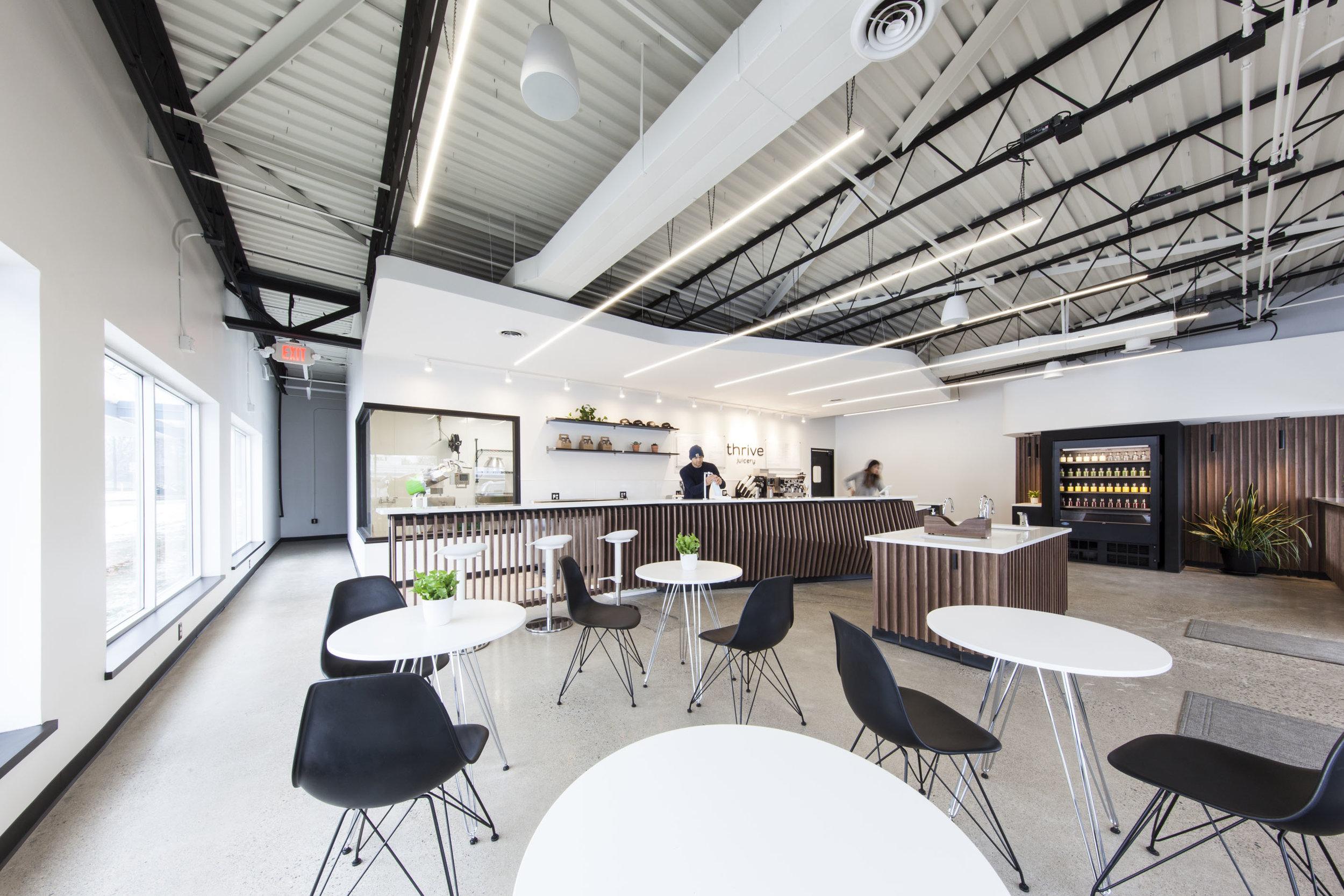Thrive Juicery Ann Arbor by Synecdoche Design Studio