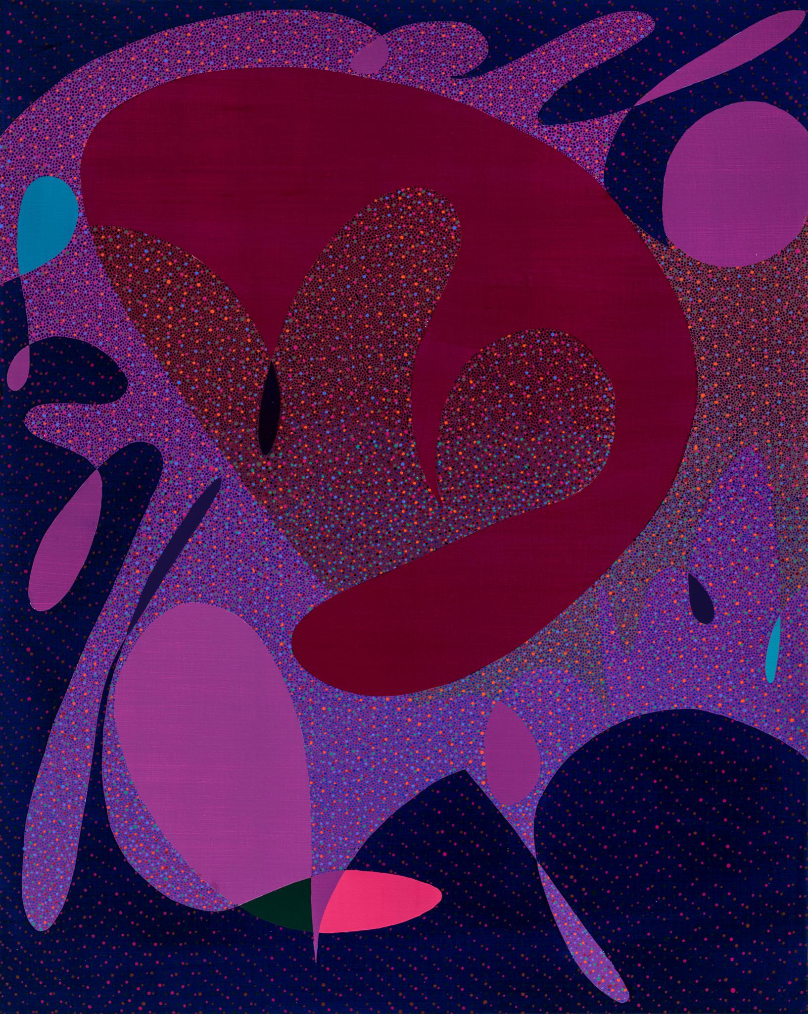 YOLO , 2018  Acrylic on Canvas  30h x 24w IN