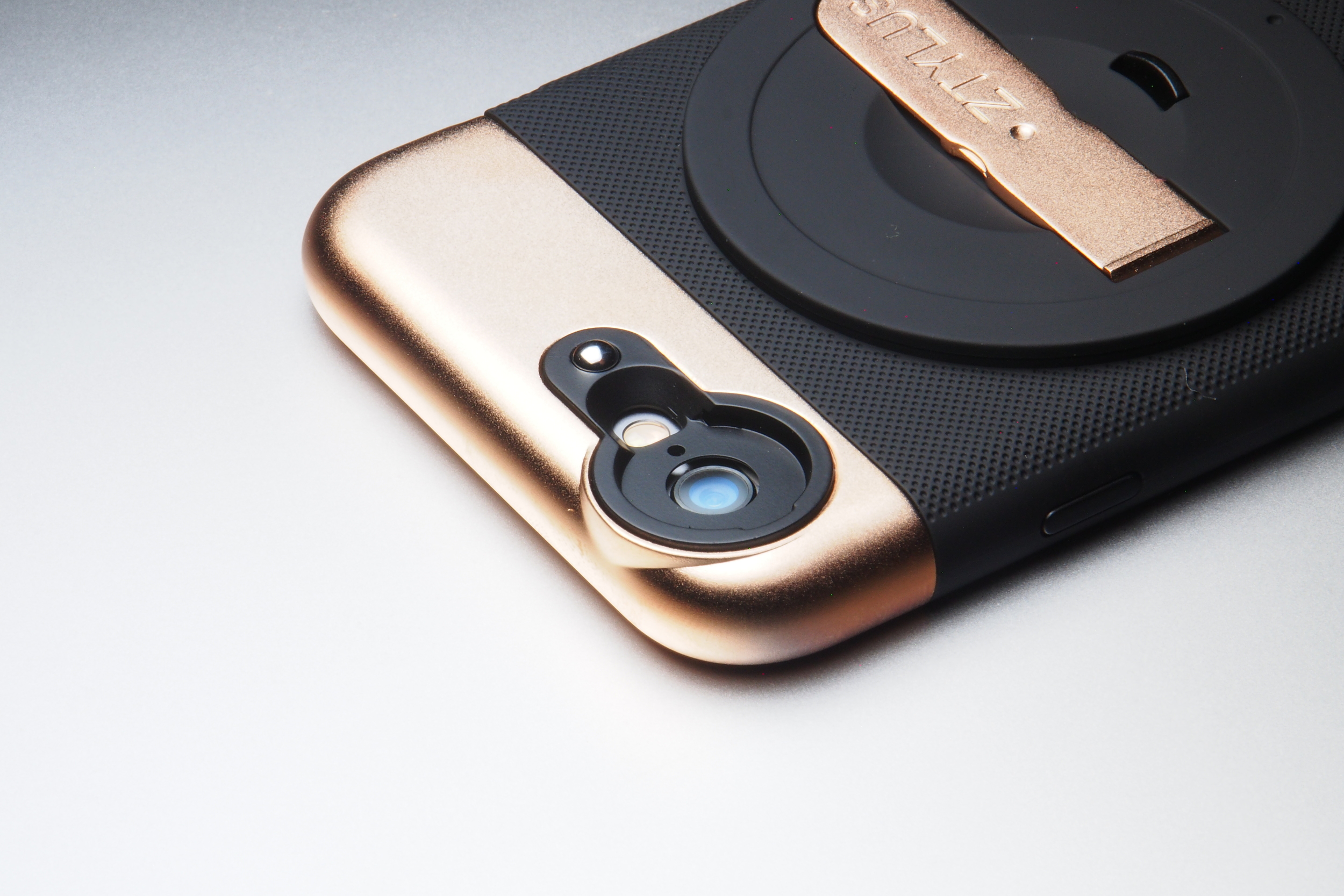 ZTYLUS Rose Gold Case Close up.JPG