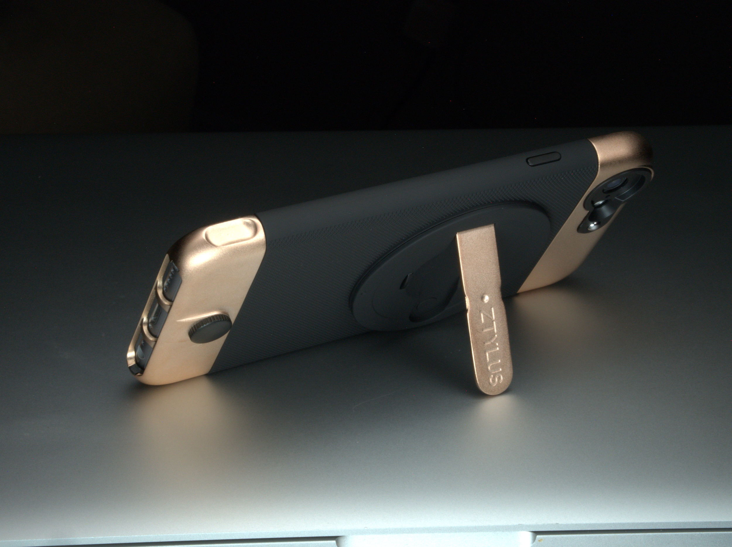 ZTYLUS Rose Gold Case Kick Stand.jpg