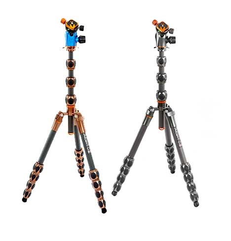 ALBERT - The world's most versatile and functional travel tripod system. Built to fit in your carry, and yet still extends to 180 cm / 6ft.