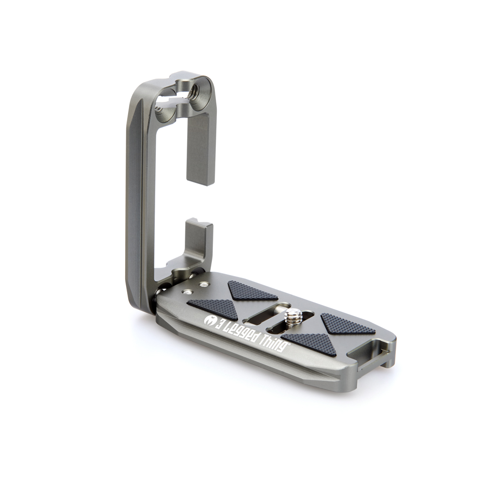 ELLIE - G - Ellie is a new evolution of universal L-Bracket, bringing users increased compatibility with a wider range of cameras, and advanced functionality.