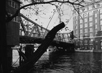 Scherzer Rolling Lift Bridge, South Branch, Chicago River  Courtesy of Friends of the Chicago River